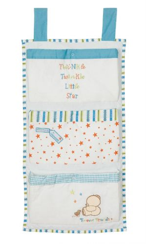'IZZIWOTNOT' FOREVER FRIENDS BLUE COLOUR NAPPY STACKER